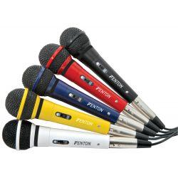 fenton dm120 set karaoke de 5 micrófonos dinámicos
