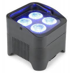 Beamz BBP94 Foco PAR con bateria 4x 10W