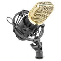 Vonyx CM400 Microfono de estudio de condensador negro/oro