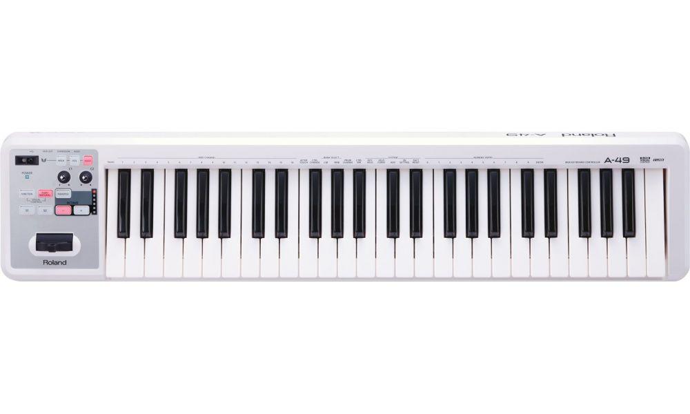 Compra Roland a-49-wh teclado al mejor precio