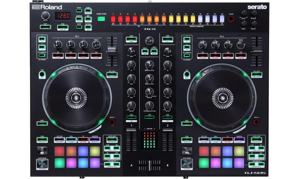 Compra Roland DJ-505 DJ controller profesional al mejor precio