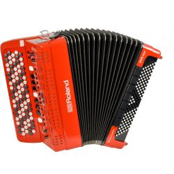 ROLAND FR-4XB-RD V-accordeon rojo