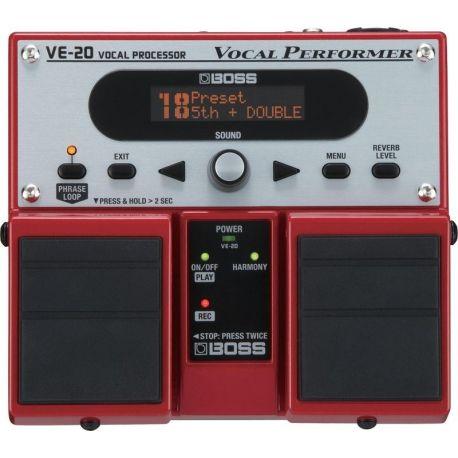 boss ve-20 pedal vocal performer