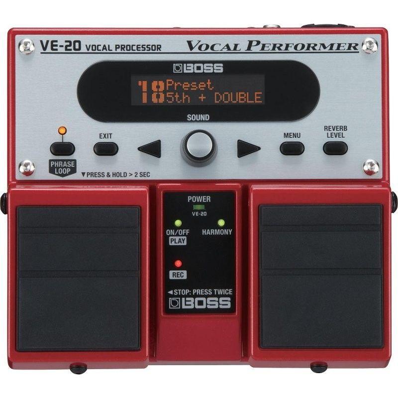 boss ve-20 pedal vocal performer - VE20
