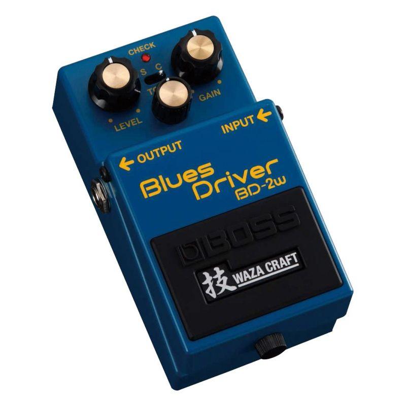 boss bd-2w blues driver pedal