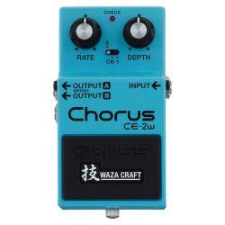 Boss CE-2W WAZA pedal
