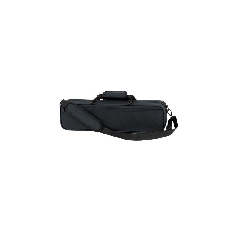 color negro Estuche flauta pata de si Ortola 9391 BMI