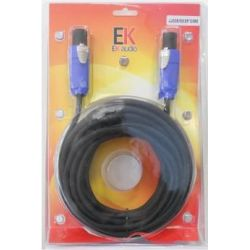 CABLE EK AUDIO JJ025SS9 SPEAKON-SPEAKON 9Mts