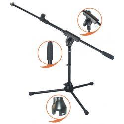 EK AUDIO Pie Jirafa Micro corto EK audio profesional negro MS010.