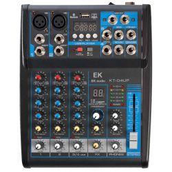EK Audio KT04UP mesa de mezclas con efectos