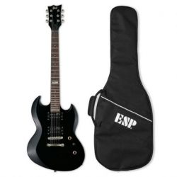 LTD VIPER10 KIT BLK Guitarra Electrica con Funda