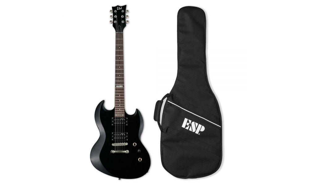 Compra LTD viper10 KIT BLK Guitarra Electrica con Funda al mejor precio