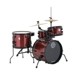 ludwig lc178x the pocket kit red sparkle bateria acustica