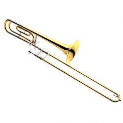 yamaha trombon bajo tenor ysl-640 m . large bore with f