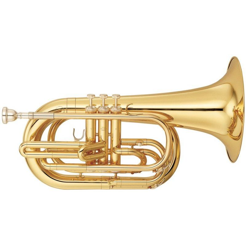 yamaha ybh-301m trompa baritona de marcha