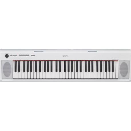 yamaha teclado digital np-12wh white