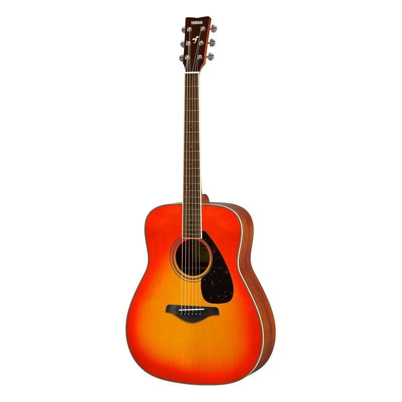 yamaha fg820 guitarra acustica autumn burst