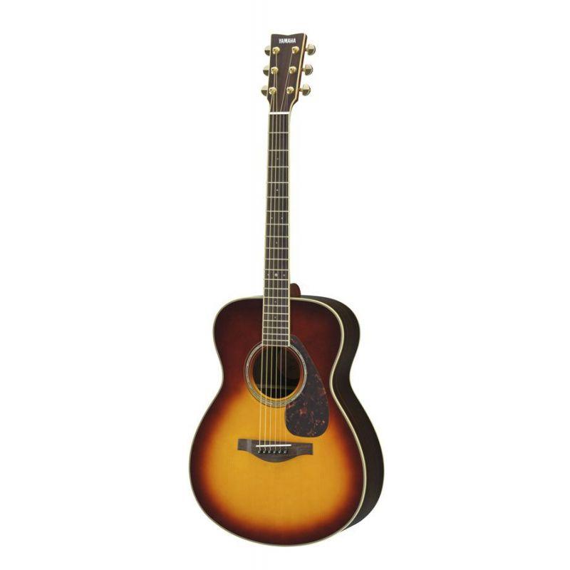 yamaha ls6 guitarra acustica brown sunburst are