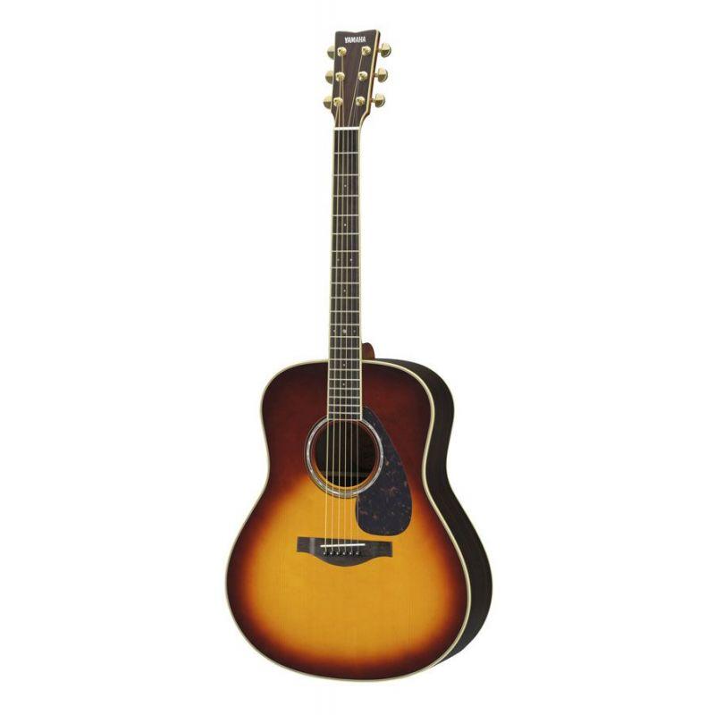 Compra yamaha ll6 guitarra acustica brown sunburst are al mejor precio
