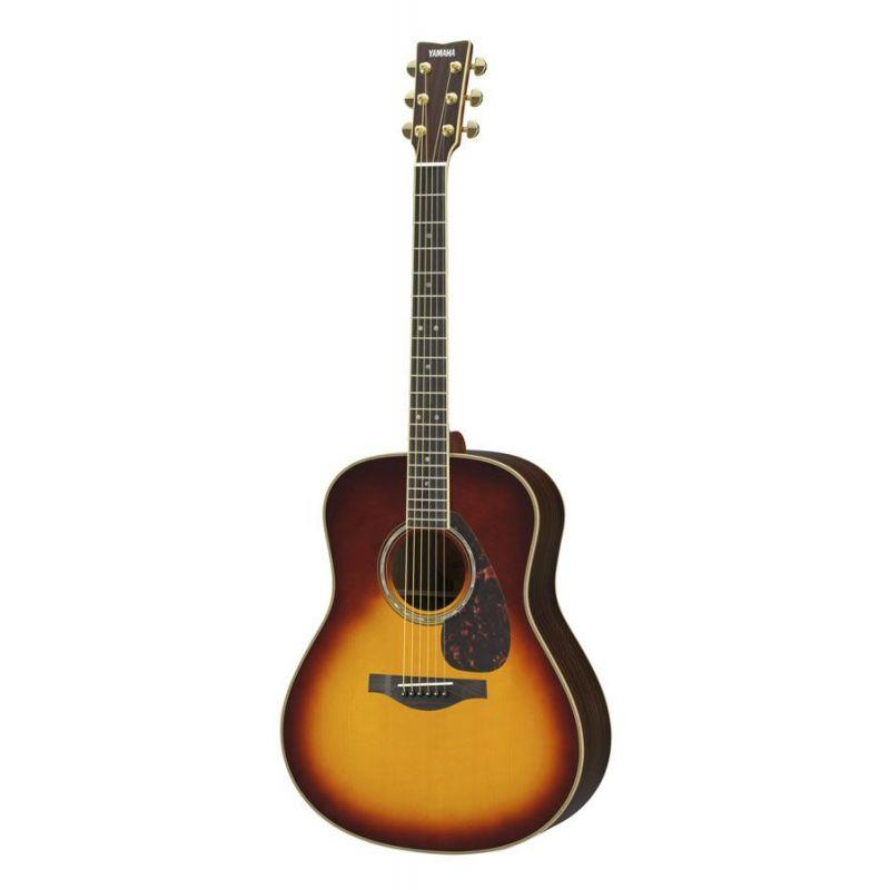 Compra yamaha ll16 guitarra acustica brown sunburst al mejor precio