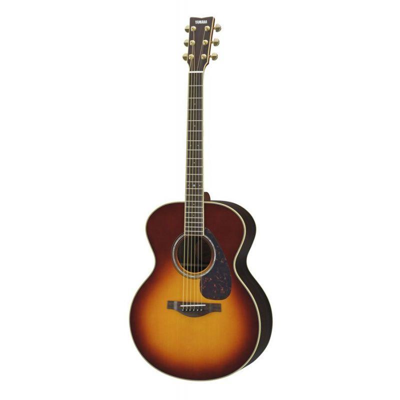 yamaha Lj6 Are brown sunburst Guitarra acustica