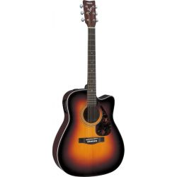 yamaha fx370c guitarra acustica tobacco brown sb