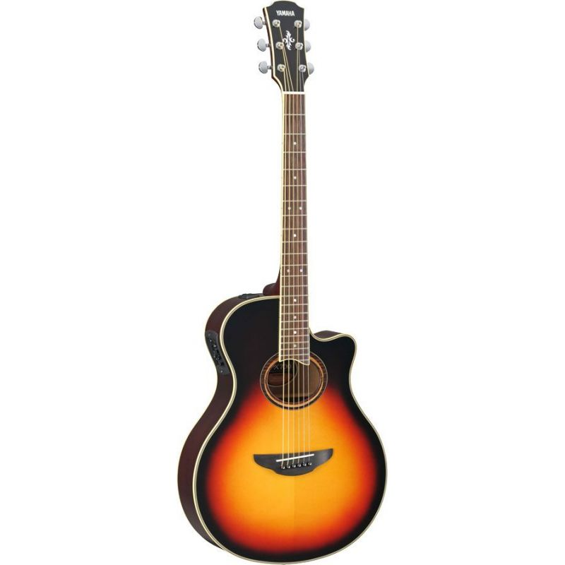 yamaha apx700ii vs guitarra acustica electrificada