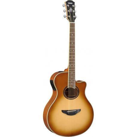 yamaha apx700ii sb guitarra acustica electrificada