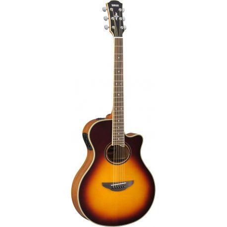 yamaha apx700ii bs guitarra acustica electrificada