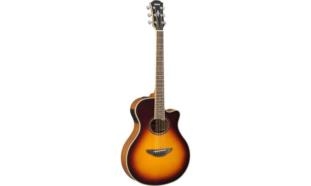 Compra yamaha apx700ii bs guitarra acustica electrificada al mejor precio