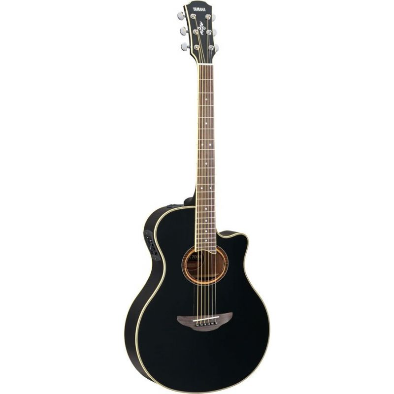 yamaha apx700ii bl guitarra acustica electrificada