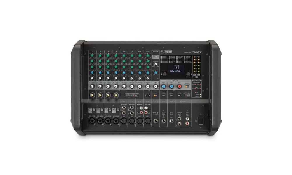 Compra yamaha emx7 - mesa de mezclas y amplificador al mejor precio