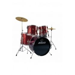 batería jinbao PO605JR jazz roja