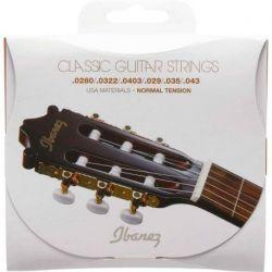 Ibanez icls6NT - juego de 6 cueRDas nylon para guitarra clásica - escala 0280-043 - tensión normal