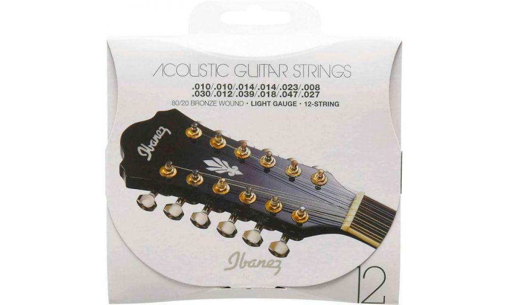 Compra ibanez iacs12c juego 12 cuerdas guitarra acustica al mejor precio