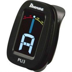 Ibanez pu3-BK - afinador cromático - negro - de clip