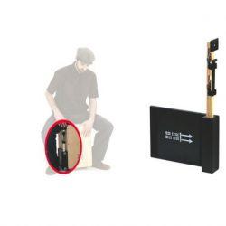 Schlagwerk heck 75 heck stick - varilla con sonajas c/placa de montaje para cajon