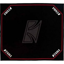 Tama tdr-tl alfombra para batería con logotiposl - 1800mm x 2000mm
