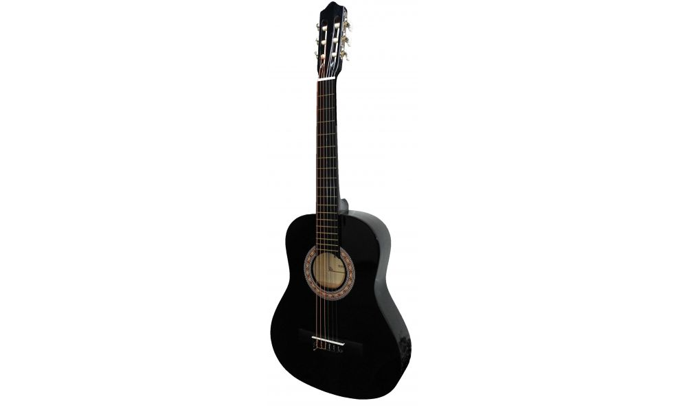 Compra guitarra rocio c6n (1/4) cadete 75 cms negro al mejor precio