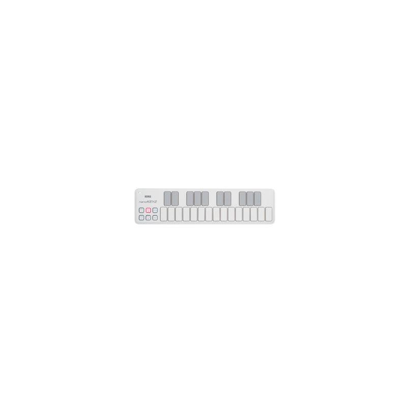 Compra korg nanoKEY 2 white al mejor precio