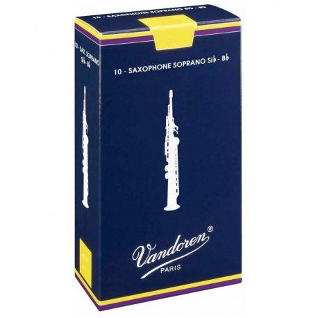 vandoren sr2025 caña saxo soprano n-2 1/2 - A64NT04XG