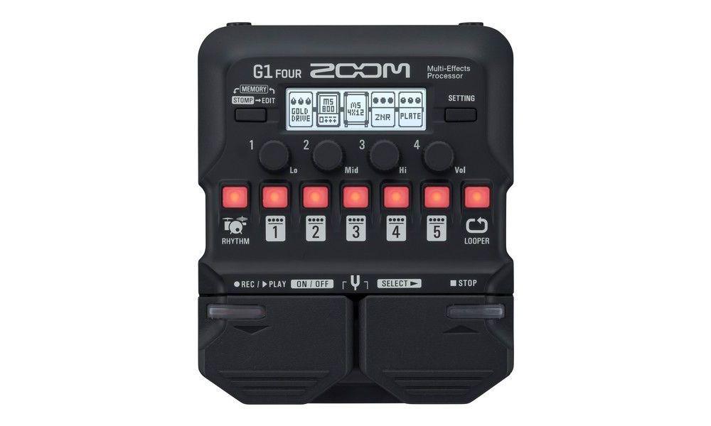 Compra Zoom G1 FOUR pedal multiefecto al mejor precio