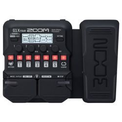 Zoom G1X FOUR pedal multiefecto