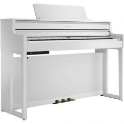 ROLAND HP704 WH PIANO DIGITAL BLANCO