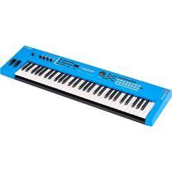 Yamaha MX61 v2 blue sintetizador