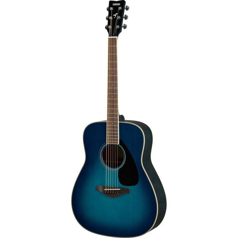 Compra yamaha fg820 guitarra acustica sunset blue al mejor precio