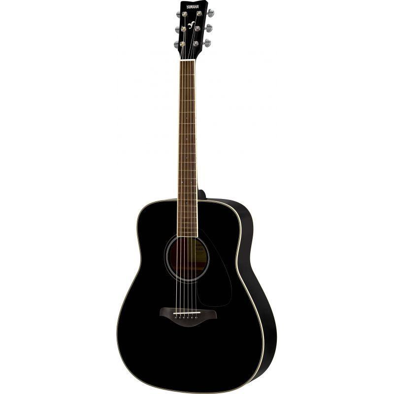 yamaha fg820 guitarra acustica black - GFG820BL