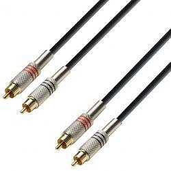 Compra Cable de Audio de 2 RCA macho a 2 RCA macho 6 m al mejor precio