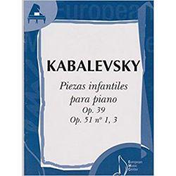KABALEWSKI: PIEZAS INFANTILES