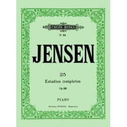 JENSEN: 25 ESTUDIOS COMPLETOS